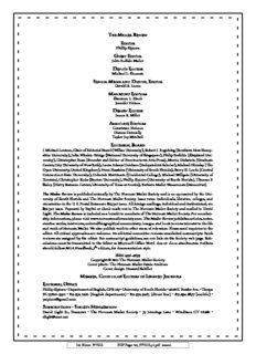 Phillip Sipiora John Buffalo Mailer Michael L. Shuman Gerald R. Lucas Shannon L. Zinck Jennifer ...