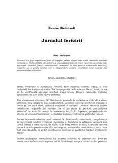 Jurnalul fericirii (de Nicolae Steinhardt).pdf