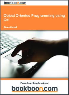 Object Oriented Programming using C Sharp