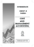 COST AND MANAGEMENT ACCOUNTING - icmai.in