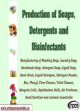 Production of Soaps, Detergents and Disinfectants.