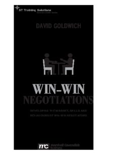 Win-Win Negotiation Techniques : Develop the mindset, skills and behaviours of win-win negotiators (ST Training Solutions: Success Skills)