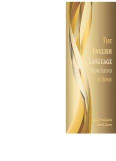 The English Language english language
