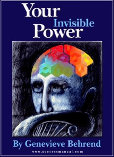 Your Invisible Power by Genevieve Behrend (1921) Success
