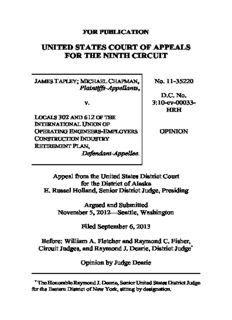 Tapley v. Locals 302 and 612 of the International Union of Operating Engineers Employers ...