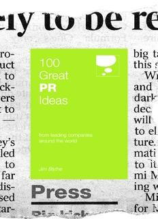 100 Great PR Ideas