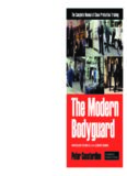 The Modern Bodyguard- The Complete Manual of Close Protection Training