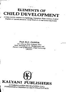 Elements of child development