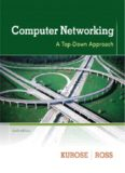 Computer Networking, A Top-Down Approach