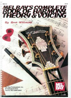 Mel Bay's complete book of harmony theory and voicing