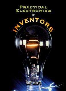Practical Electronics for Inventors Paul Scherz