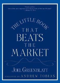Joel Greenblatt - The Little Book That Beats the Market.pdf
