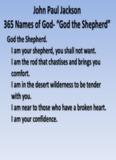 """John Paul Jackson 365 Names of God- """"God the Shepherd"""""""