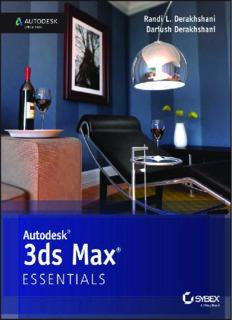 Autodesk 3ds Max 2015 Essentials  Autodesk Official Press