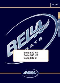 Bella 530 HT Bella 560 HT Bella 580 C
