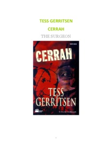 Cerrah (The Surgeon)