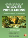 Conservation of Wildlife Populations: Demography, Genetics, and Management
