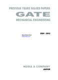Mechanical Solved Paper – Nodia