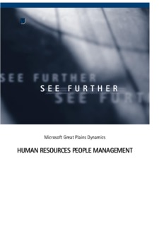Human Resources People Management