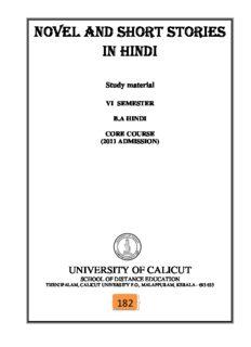 novel and short stories in hindi
