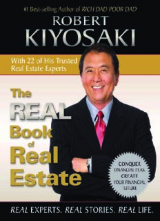 Robert Kiyosaki The Real Book Of Real Estate