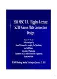 2011 AISC T.R. Higgins Lecture: SCBF Gusset Plate Connection Design