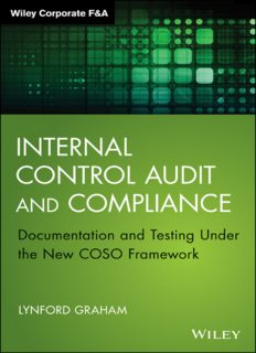 Internal control audit and compliance : documentation and testing under the new COSO framework