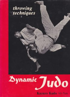Dynamic Judo throwing techniques