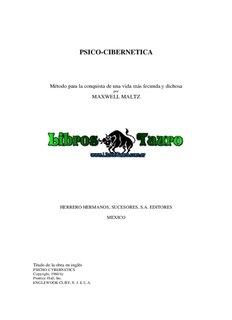 Maltz, Maxwell - Psicocibernetica.pdf