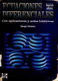 Ecuaciones diferenciales con aplicaciones y notas historicas