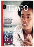 Majalah Tempo - 13 Mei 2013: Teka-teki Wiji Thukul