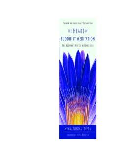 The Heart of Buddhist Meditation: The Buddha's Way of Mindfulness
