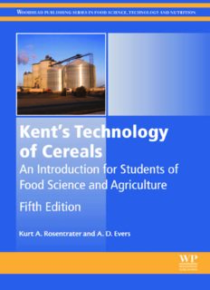 Kent's Technology of Cereals, Fifth Edition: An Introduction for Students of Food Science and Agriculture