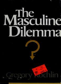 The Masculine Dilemma - A Psychology of Masculinity