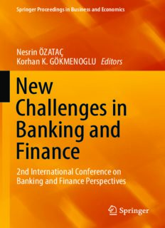 New Challenges in Banking and Finance: 2nd International Conference on Banking and Finance Perspectives