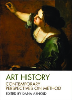 Art History: Contemporary Perspectives on Method (Art History Special Issues)