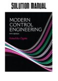 Solution Manual for Modern Control Engineering