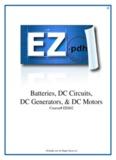 Batteries, DC Circuits, DC Generators, & DC Motors