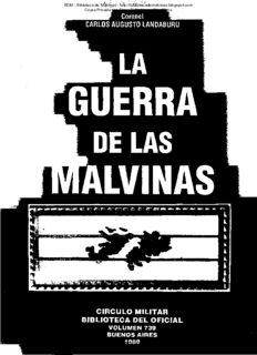 La Guerra de Las Malvinas (The Falklands War)