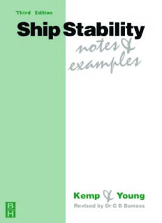 Ship Stability: Notes and Examples, Third Edition (Kemp & Young Series) (Kemp & Young Series)