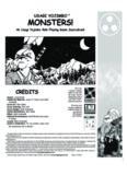 Monsters! (Usagi Yojimbo RPG)