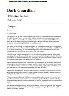 Feehan, Christine - Dark 09 - Dark Guardian