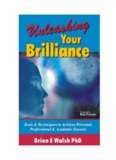 Unleashing Your Brilliance: Tools & Techniques - Walsh Seminars