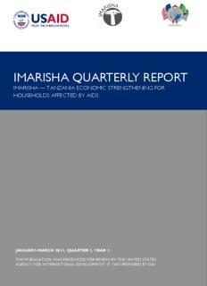 imarisha quarterly report