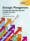 Strategic Management A Competitive Advantage Approach