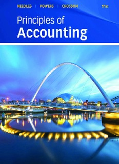 Principles of Accounting - Belverd E. Needles, Marian Powers, Susan V. Crosson.pdf