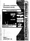 Multimedia systems (Sem-VIII) Faruk Kazi