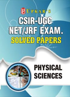 CSIR-UGC NET JRF Exam Solved Papers Physical Science