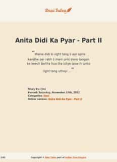 Anita Didi Ka Pyar - Part II