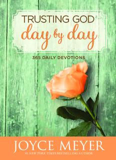 Trusting God Day by Day - Joyce Meyer